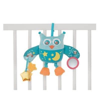 לוח צעצוע ינשוף נתלה כחול – Toy Owl Panel