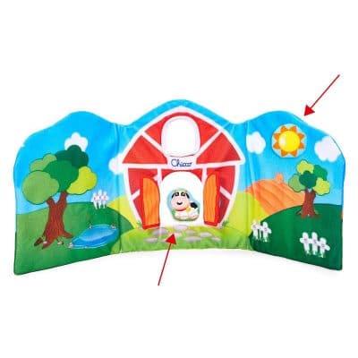 ספר חיות צבעוני – Toy Farm Animals Theather