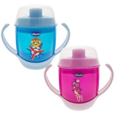 כוס אימון עם פיית פלסטיק חיות- Meal Cup Animals