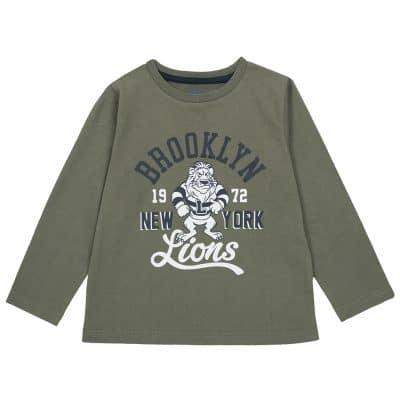 חולצה שרוול ארוך- (09006446-055)