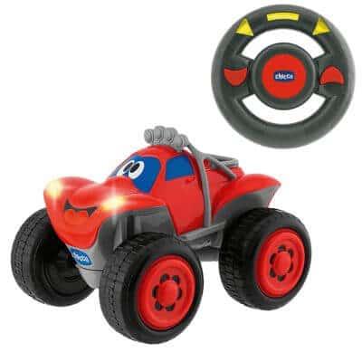 אוטו בילי + שלט הגה גלגלים גדולים – Billy Big Wheels