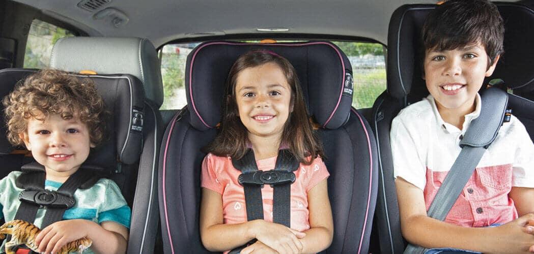 בטיחות ברכב - חגירה נכונה של ילדך ברכב