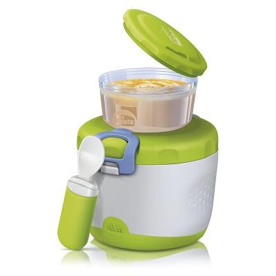 קופסא לאחסון מזון 2 חלקים תרמית – Thermal Food Container System
