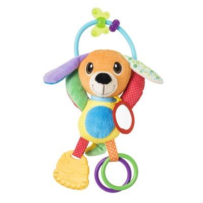 נשכן רעשן לתינוק מר פאפי – Baby Senses Mr. Puppy Activity